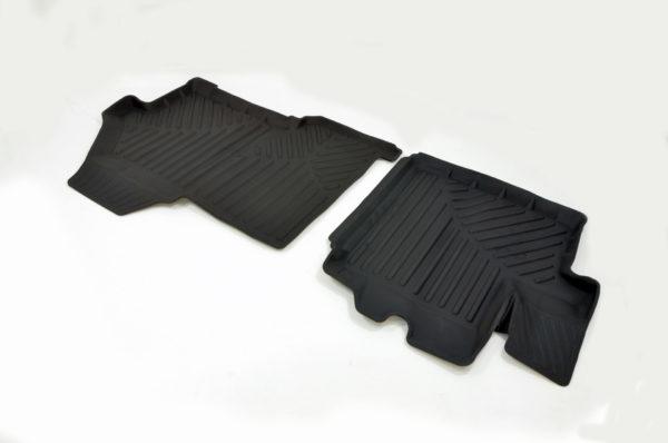 Коврики резиновые в салон 3D PREMIUM для Peugeot Boxer (2006-) 1