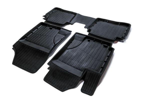 Коврики резиновые в салон 3D PREMIUM для Hyundai i20 (2008-2012) 1