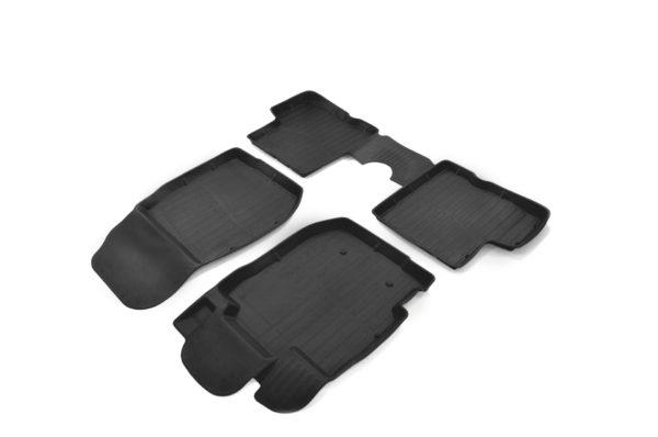 Коврики резиновые в салон 3D PREMIUM для Renault Duster 2WD/4WD (2015-2017) 1