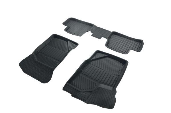 Коврики резиновые в салон 3D STANDART для Datsun MI-DO (2014-) 1