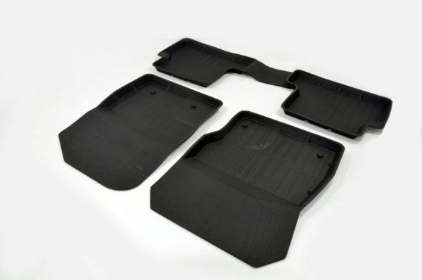 Коврики резиновые в салон 3D PREMIUM для Ford Focus II SD/HB/UN (2004-2011) 1