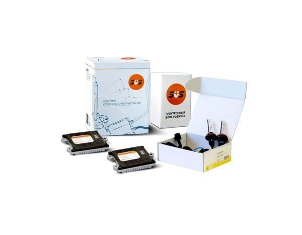 SVS Комплект ксенонового оборудования (Блок AC 9-32В 50Вт-2шт, Лампа ксеноновая AC HB3 3000K-2шт) 1