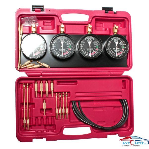 Набор для тестирования топливного насоса карбюратора и его привода (в кейсе) 32 предмета JTC /1 1