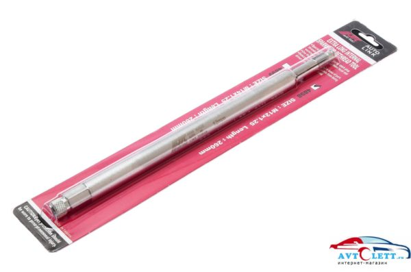 Метчик удлиненный M12 x 1.25 для восстановления резьбы свечных отверстий, длина 260мм JTC /1 1