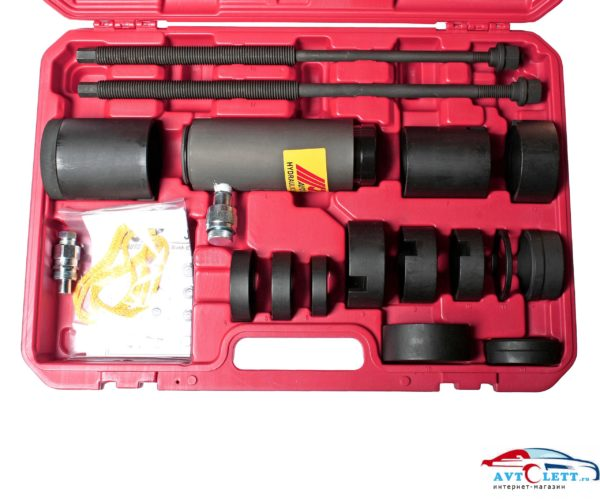 Набор для снятия и установки сайлентблоков подрамника с гидроприводом (MERCEDES W203, 211, 220; BMW E31, 32, 34, 38, 39, 53, 60, 65, 66) JTC /1 1