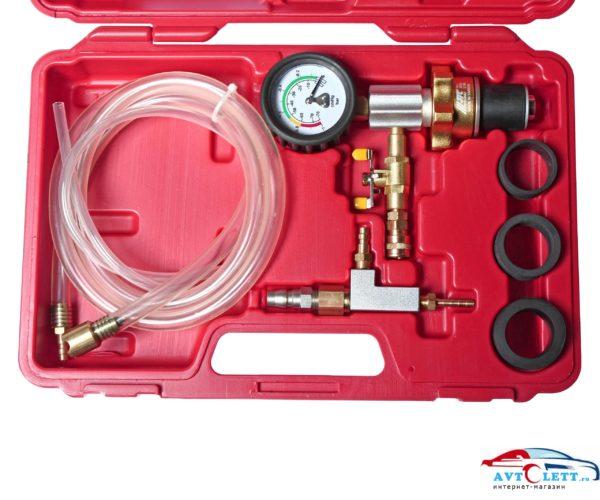Набор для вакуумной откачки воздуха и замены жидкости в системе охлаждения (в кейсе) JTC /1 1