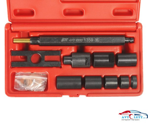 Набор адаптеров для компрессометра JTC-1364 (11 предметов) JTC /1 1