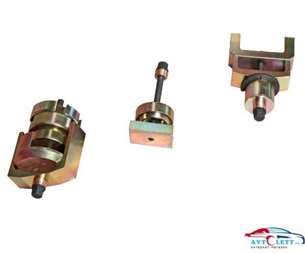 Набор для снятия и установки сайлентблоков подрамника (MERCEDES W211, W219, W230) JTC /1 1