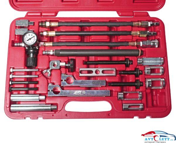 Набор для снятия и установки пружин клапанов универсальный (MERCEDES, BMW, TOYOTA, FORD, MITSUBISHI, VAG и пр.) в кейсе JTC /1 1