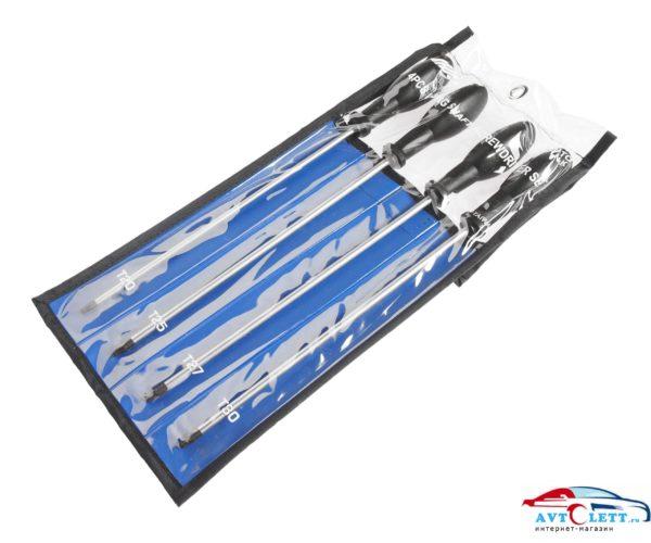 Набор отверток удлиненных TORX T20х250мм-T30х250мм 4шт JTC /1 1