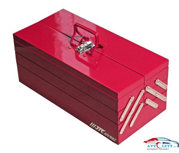Набор инструментов в переносном инструментальном ящике (5 лотков) 108 предметов JTC /1 1