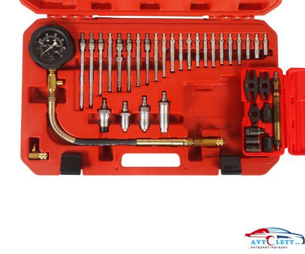 Компрессометр для дизельных двигателей с набором адаптеров (37ед) JTC /1/6 1