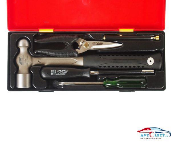 Набор инструментов комбинированный (в кейсе) 5шт JTC /1 1