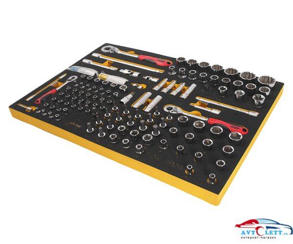 Набор инструмента универсальный, комплектация BMW в ложементе (119 предметов) JTC /1/2 1