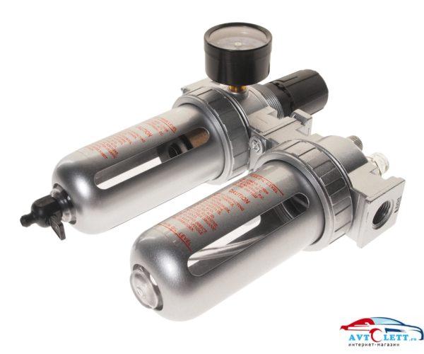 """Лубрикатор 3/8"""" с пластиковым переключателем, давление 215 PSI, 2500 л/мин, 5~60?, объем 125 мл. JTC /1/100 1"""