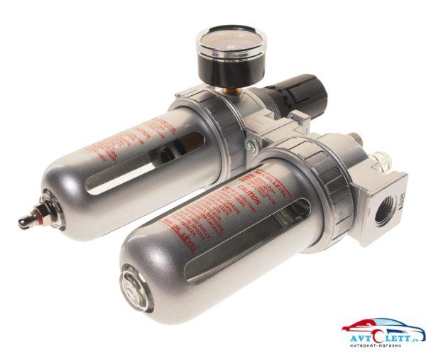"""Лубрикатор 3/8"""" с металлическим переключателем, давление 250 PSI, 2500 л/мин, 5~60?, объем 125 мл. JTC /1/100 1"""