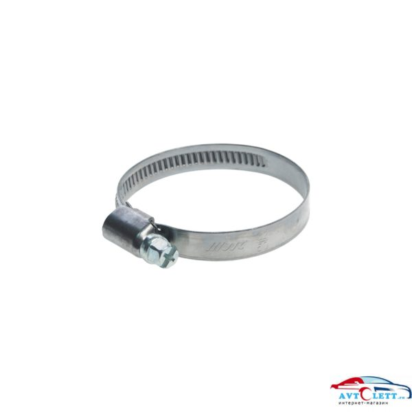 Хомут червячный 32-50мм (нержавеющая сталь) (ширина ленты 9мм) JTC /1/100/1000 1