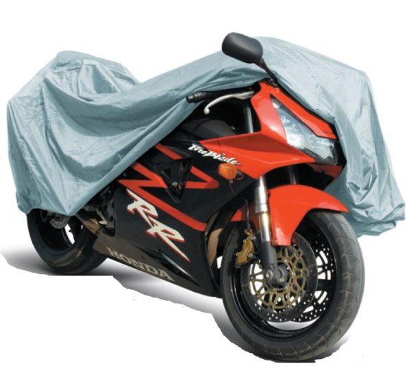 "Тент-чехол на мотоцикл AVS МС-520 ""L"" 229х99х125см (водонепроницаемый) 1"