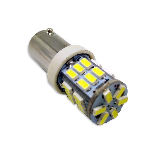 Лампа AVS T8 В040 /белый/ (BA9S) 30SMD 3014 9-30V, коробка 2 шт 1