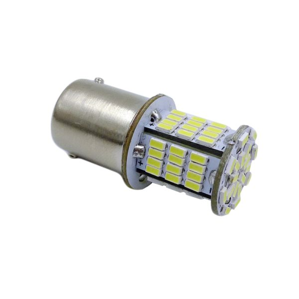 Лампа AVS T15 S100A /белый/(BA15S) 78SMD 3014 10-30V 1 contact, коробка 2 шт. 1