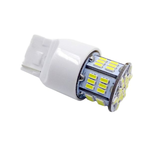 Лампа AVS T20 T113B /белый/(W3*16D) 54SMD 3014, 2 contact, коробка 2 шт. 1