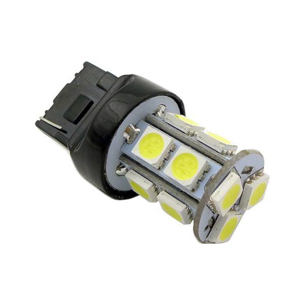 Лампа AVS T20 T048B /красный/(W3*16D) 13SMD 5050, 2 contact, коробка 2 шт. 1