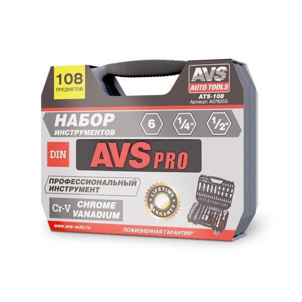 Набор инструментов 108 предметов AVS ATS-108 1