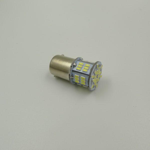 Лампа AVS T15 S099A /красный/ (BA15S) S25 54SMD 3014 1 contact, блистер 2 шт 1